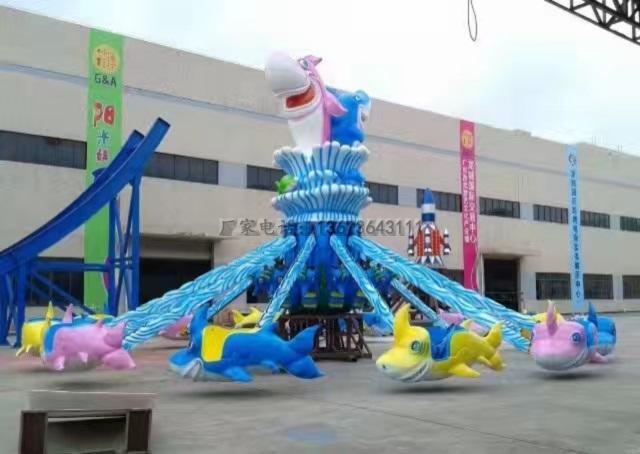 大洋游乐设备5臂旋转大章鱼  厂家直销现货供应30座旋转大章鱼示例图45