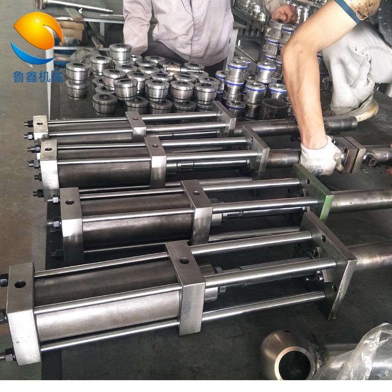 环保工程车辆液压油缸厂家定做批发 80/65-300 济南鲁鑫示例图10