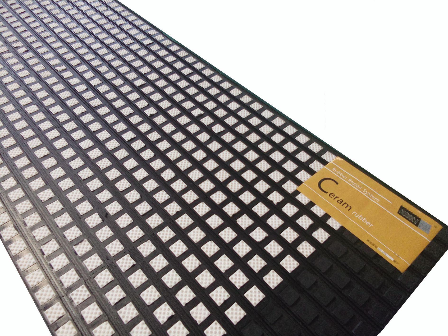 洛阳陶瓷胶板专业生产厂专业陶瓷滚筒包胶示例图1