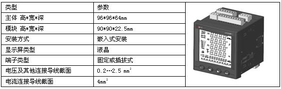 以太网接口三相多功能表 安科瑞APM800/MCE 网络电能数据采集示例图3