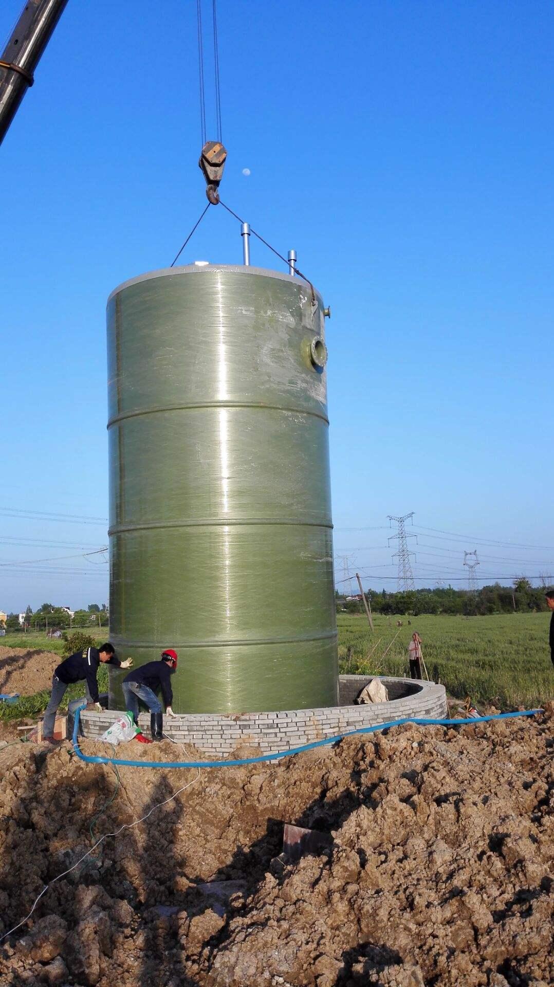一體化預制泵站污水提升泵站示例圖5