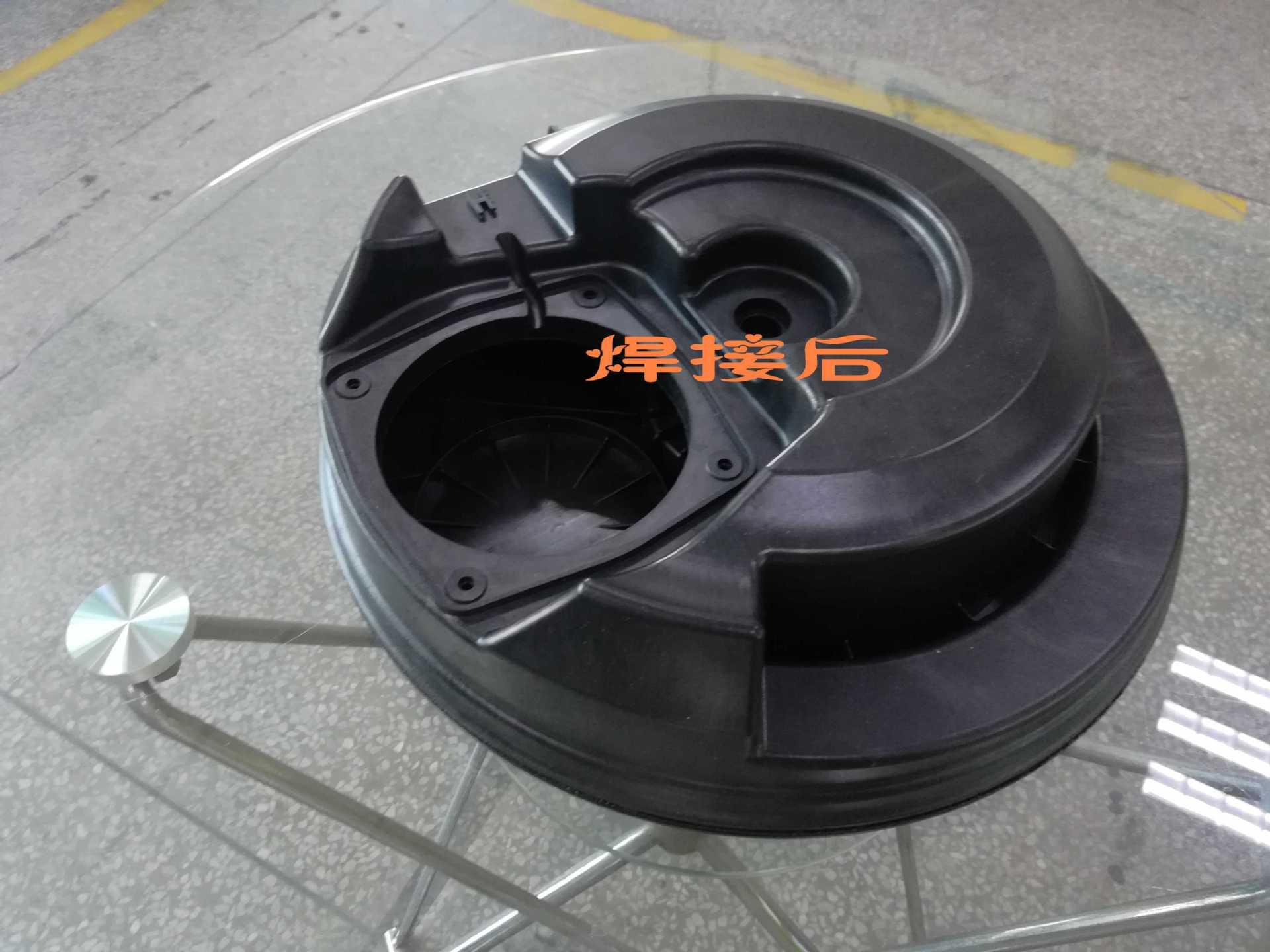 协和半自动热板机 精密设计制造 汽车水箱PP防水气密焊接热板机示例图6