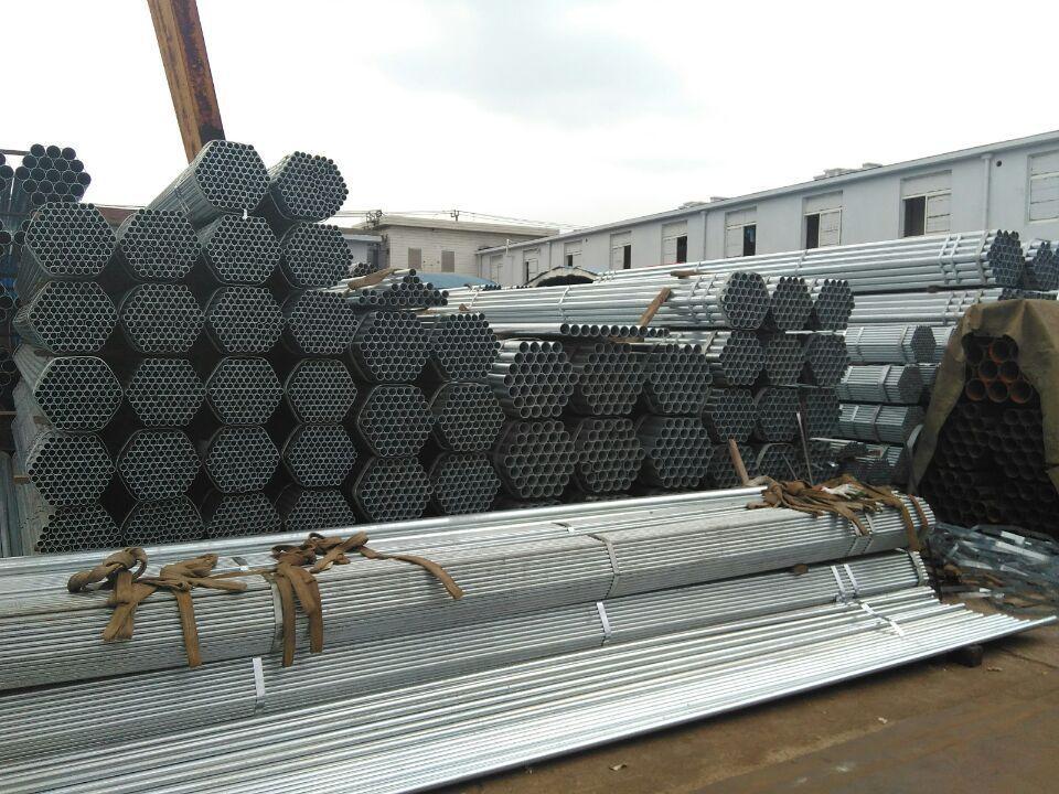 现货供应镀锌钢管, 热镀锌镀锌管,dn15(4分管) 优耐特示例图5