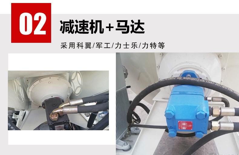 河南瑞控 小型混凝土罐車 2.5方攪拌車  混凝土攪拌車 可定制示例圖5