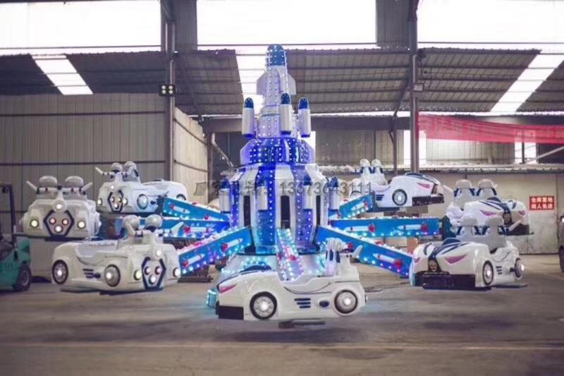 2020单人飞碟碰碰车 亲子双人飞碟碰碰车 批量定做 郑州大洋儿童游乐设备供应商游艺设施厂家示例图45