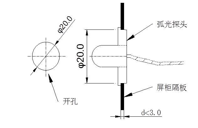 安科瑞ARB5-E弧光保护扩展单元 弧光信号采集 采集30路弧光信号示例图7