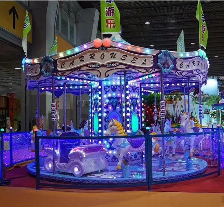 儿童游乐场游乐设备西瓜飞椅_16座旋转水果飞椅_郑州大洋水果旋风示例图36