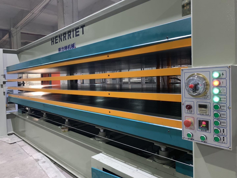 亨力特hlt3248-120t貼木皮熱壓機,木工家具貼面熱壓機尺寸,非標可以定制示例圖20