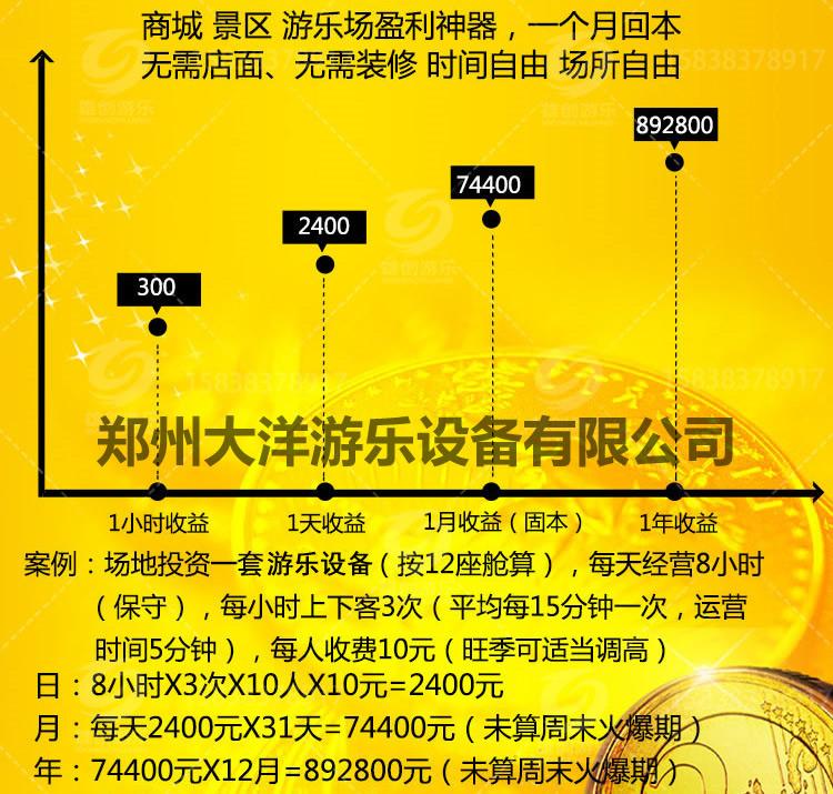 低价提供儿童游乐设备水果飞椅 厂家直销 郑州大洋火爆销售16座水果飞椅示例图60