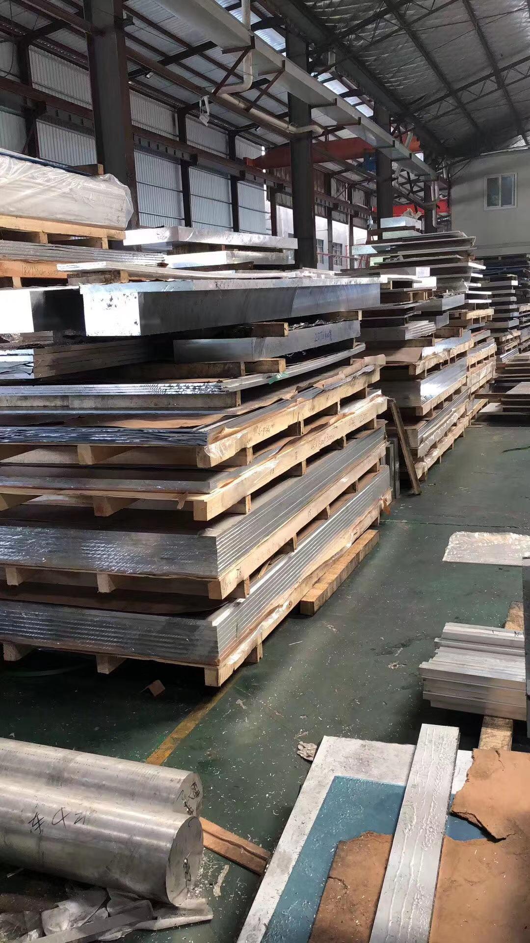 上海大小五条筋防滑铝板1060花纹铝板条筋花纹铝板示例图5