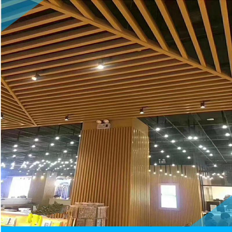 弧形铝方通 弧形铝吊顶厂家 波浪铝方通 弧形铝方通吊顶天花 工厂直销价格优惠质量保证货期快示例图14