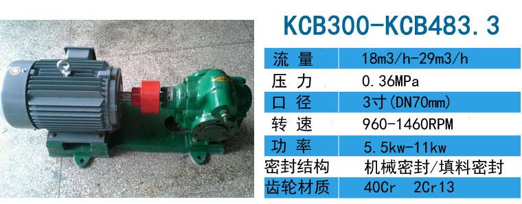 供应KCB2500齿轮泵流量150立方,大流量齿轮泵-远东泵业示例图4
