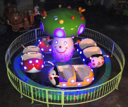儿童小型游乐设备瓢虫乐园 郑州大洋保质保量室内6车瓢虫乐园项目示例图10