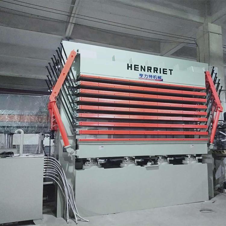 亨力特hlt3248-600t三聚氰氨貼面熱壓機,木工家具貼面熱壓機,生態板貼面熱壓機,尺寸非標可以定制示例圖12