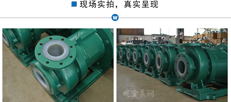CQB-FJ氟塑料磁力泵,防腐蝕耐酸堿磁力驅動泵,襯氟高溫磁力泵,磁力離心泵示例圖18