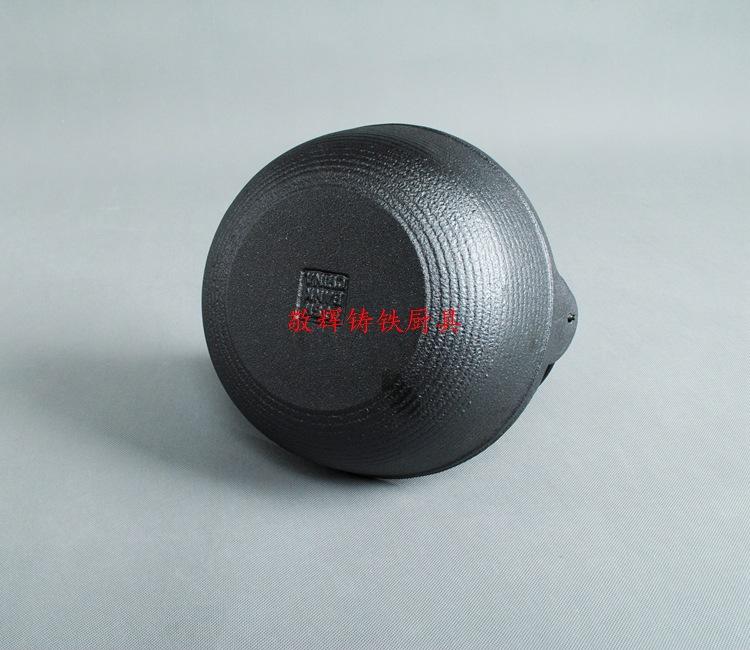 日式寿喜锅铸铁汤煲手工铸造炖锅汤锅炖煲老式日本锅鑄鐵鍋定做示例图5