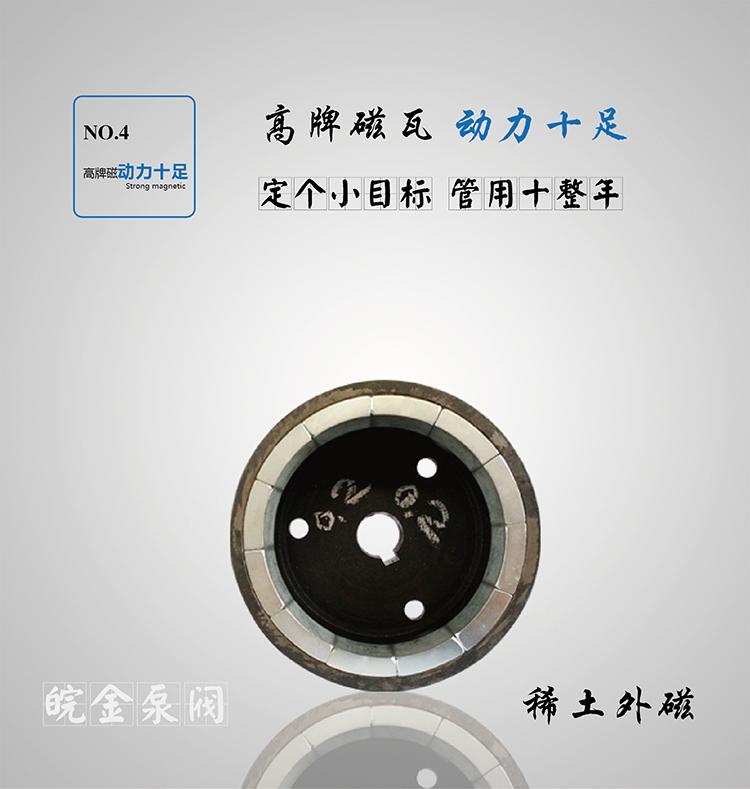 CQB-FJ氟塑料磁力泵,防腐蝕耐酸堿磁力驅動泵,襯氟高溫磁力泵,磁力離心泵示例圖16