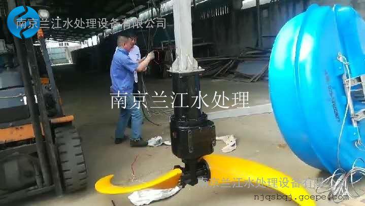 南京�m江LHJ浮筒推流器,立式�h流浮筒��拌�C示例�D6