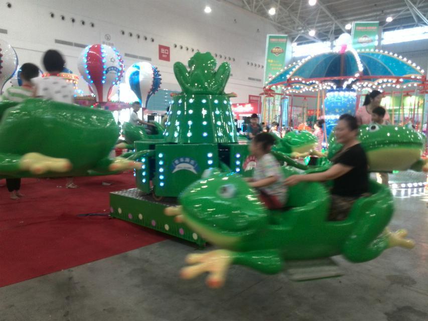 2020郑州大洋游乐设备8臂桑巴气球 儿童游乐厂家直销24座桑巴气球项目示例图56