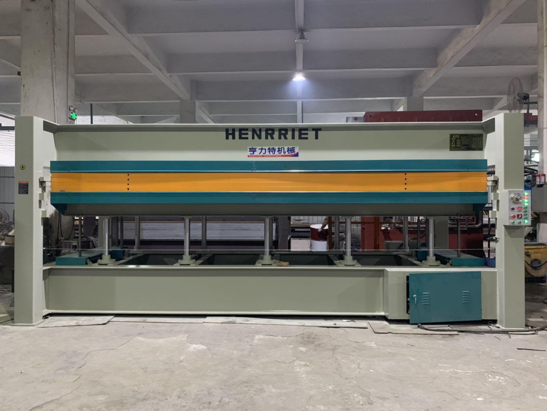 亨力特hlt3248-600t三聚氰氨貼面熱壓機,木工家具貼面熱壓機,生態板貼面熱壓機,尺寸非標可以定制示例圖31
