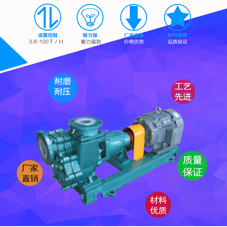 皖金40FZB-30自吸泵,化工襯氟自吸泵,耐酸堿離心自吸泵,臥式自吸泵原理價格示例圖2