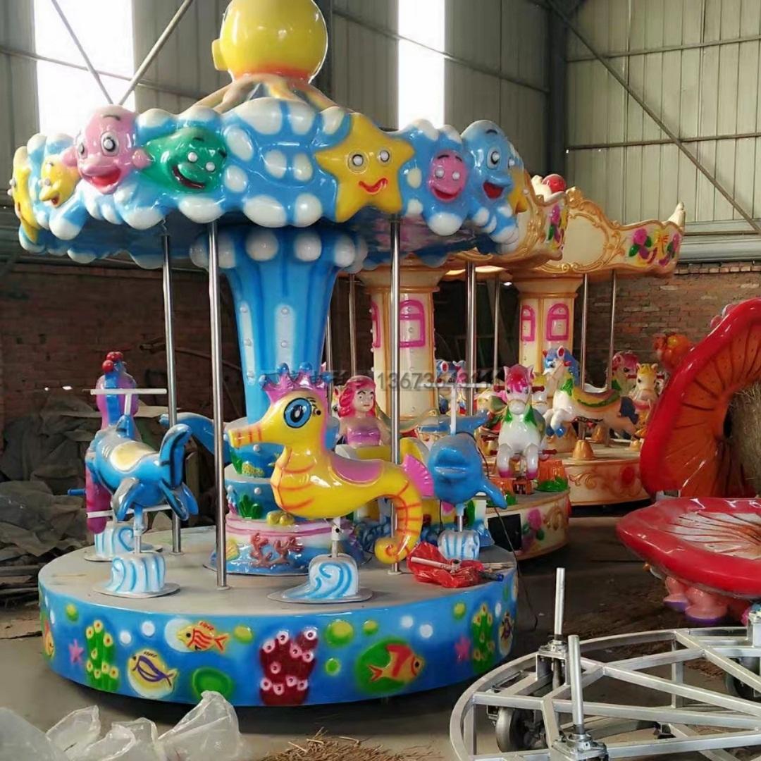 2020郑州大洋游乐设备8臂桑巴气球 儿童游乐厂家直销24座桑巴气球项目示例图49