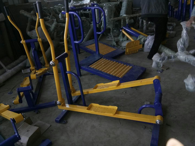 销售公园小区单人健骑机  室外健身器材  户外健身路径 增强体质示例图27
