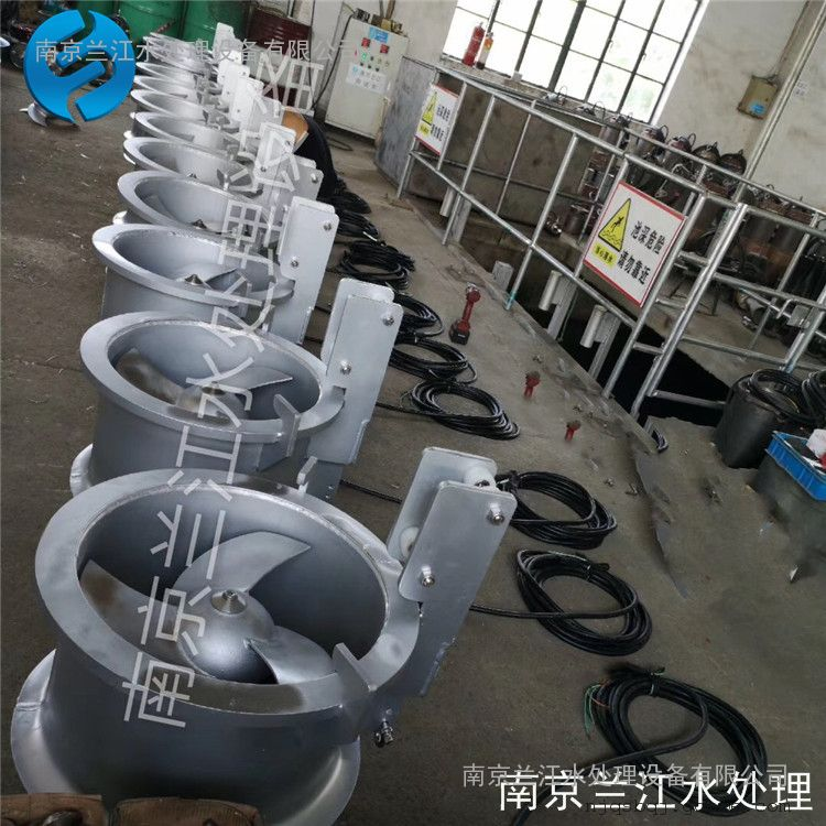 南京兰江QJB-W1.5污泥回流泵 膜池穿墙泵示例图4