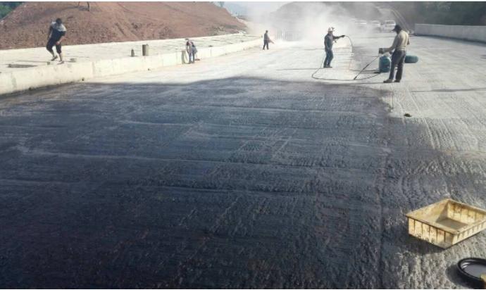 隧道桥梁专用防水 AMP-100反应型桥面防水涂料示例图4