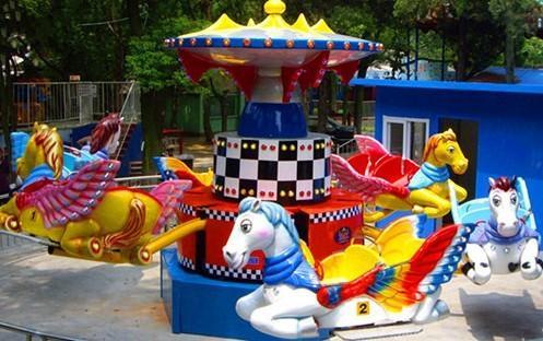 儿童游乐场游乐设备西瓜飞椅_16座旋转水果飞椅_郑州大洋水果旋风示例图57