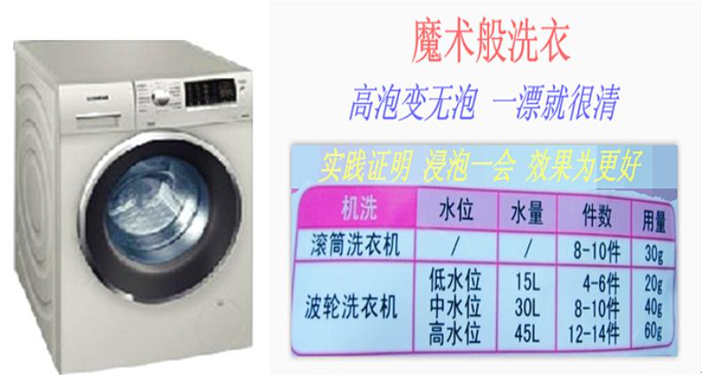原装老外洗衣液 2kg装 一种 柔软低泡洗衣液示例图6
