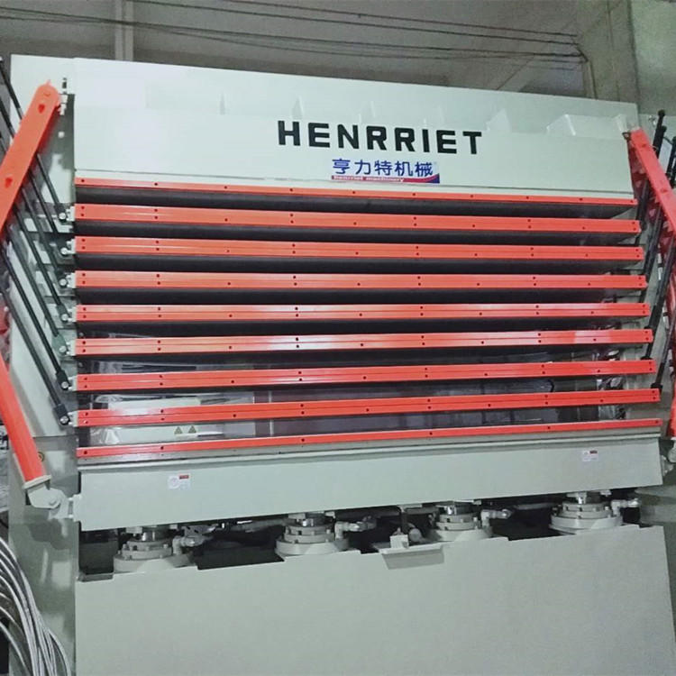 亨力特hlt3248-600t三聚氰氨貼面熱壓機,木工家具貼面熱壓機,生態板貼面熱壓機,尺寸非標可以定制示例圖11