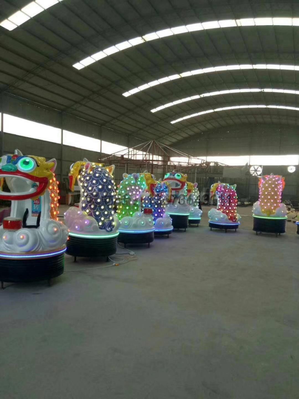 儿童游乐设备桑巴气球 厂家直销 郑州大洋8臂桑巴气球公园游乐示例图40