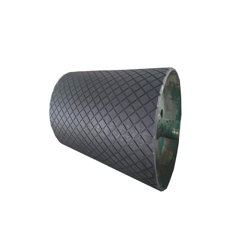 10mm厚度驱动滚筒包胶胶板,耐磨冷包胶板示例图6