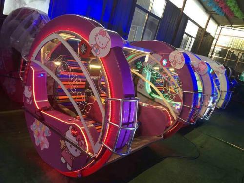 2020郑州大洋游乐设备8臂桑巴气球 儿童游乐厂家直销24座桑巴气球项目示例图54