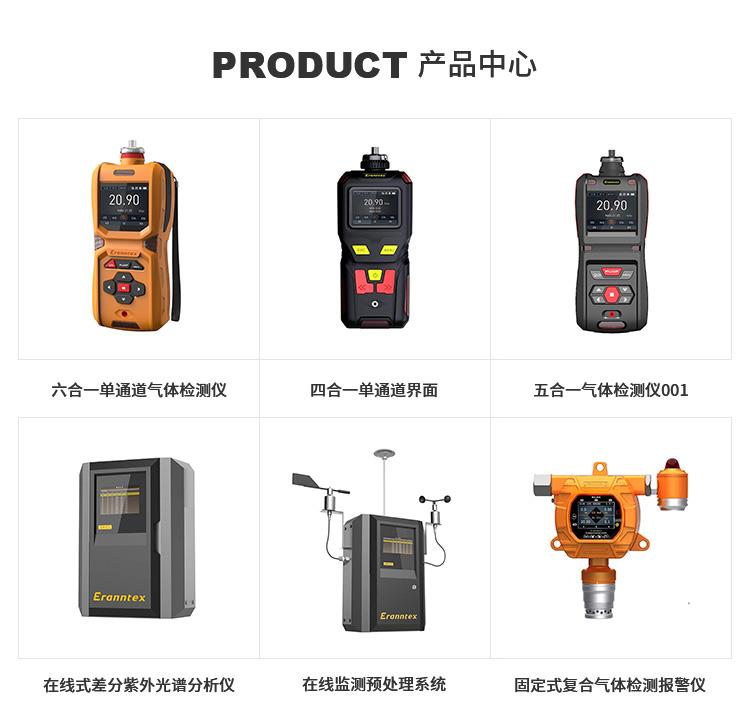 便携式四合一气体检测仪价格-品牌-厂家-价格-逸云天示例图1