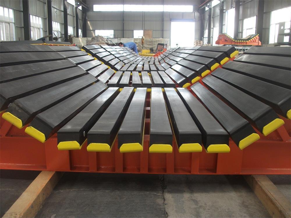 水泥厂皮带卸料口缓冲床  缓冲床源头生产厂家示例图10