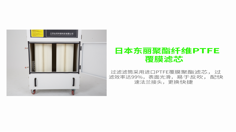 磨床打磨粉尘集尘器 5.5KW打磨移动柜式工业吸尘器 工业磨床打磨抛光专用集尘器示例图8
