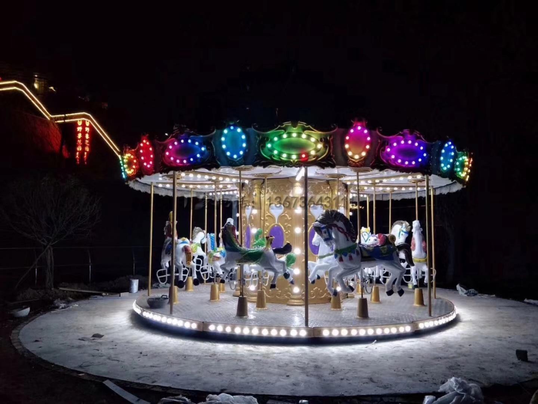 欢乐喷球车户外儿童游乐设备 大洋游乐厂家直销轨道欢乐喷球车示例图23