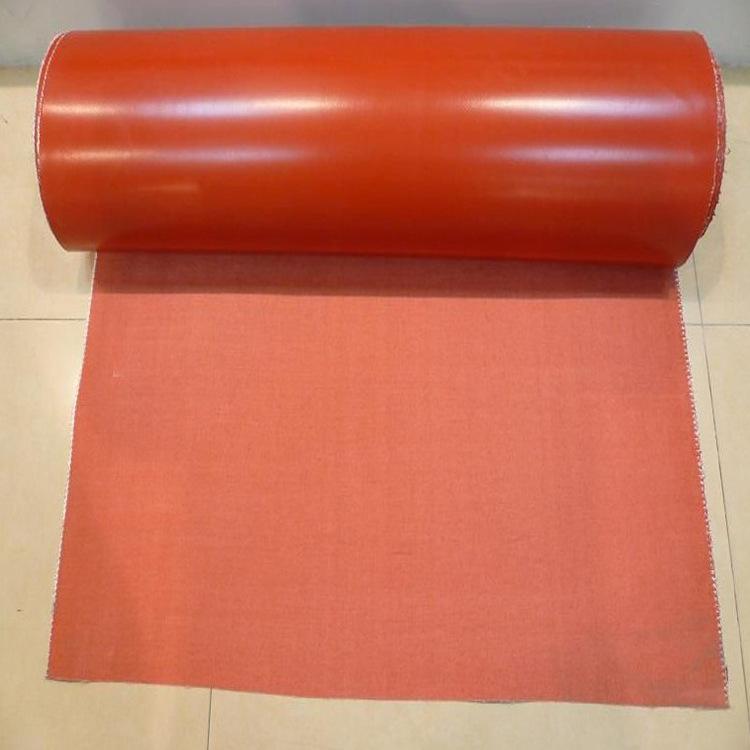 宝来 无味硅胶防火布 阻燃硅胶布 耐高温软接布 隔热环保硅橡胶防火布示例图10