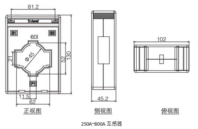 断相保护电动机保护器 安科瑞ARD2-5 马达保护器 启停过载超时低压示例图25