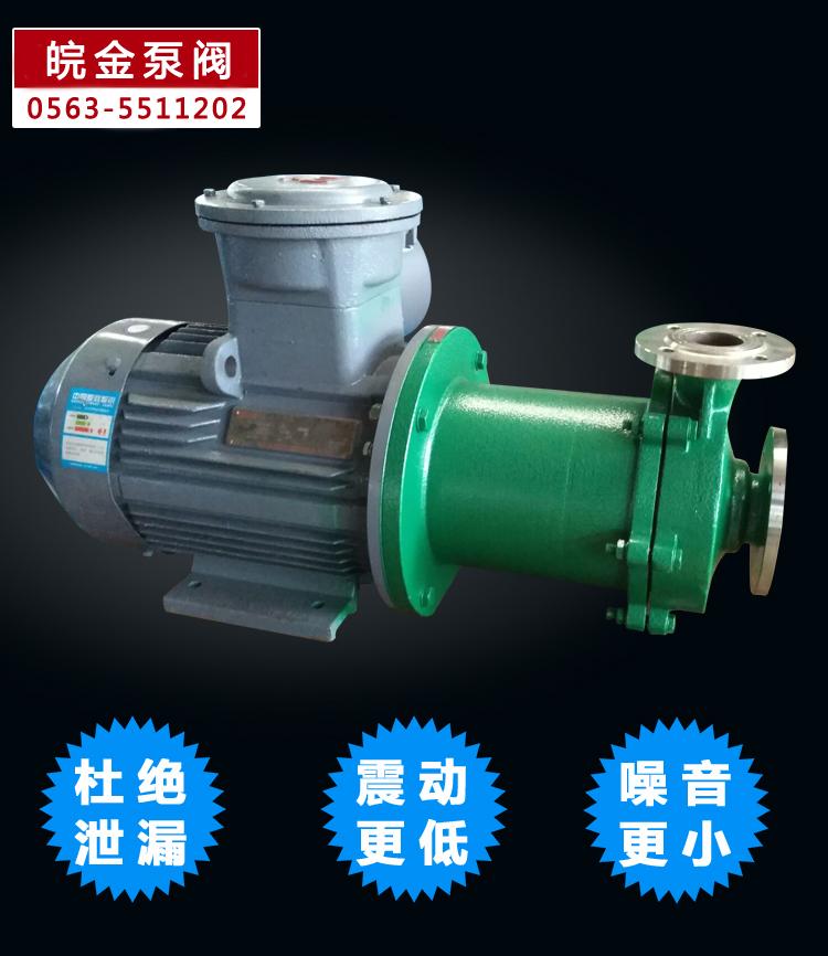 CQB磁力離心泵 不銹鋼磁力泵品牌 化工磁力驅動泵 304.316L磁力管道泵生產示例圖6