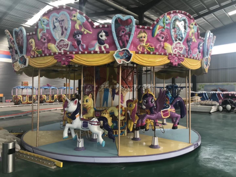 欢乐喷球车户外儿童游乐设备 大洋游乐厂家直销轨道欢乐喷球车示例图21
