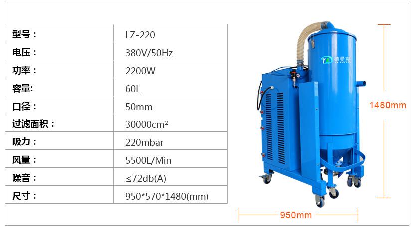 工业吸尘器 大功率 车间 工厂车间大量粉尘 解决示例图4