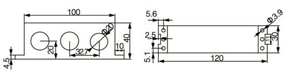 线路保护装置    低压馈线保护   安科瑞ALP200-400  开孔91x44 零序断相不平衡保护 测量控制通讯一体示例图10