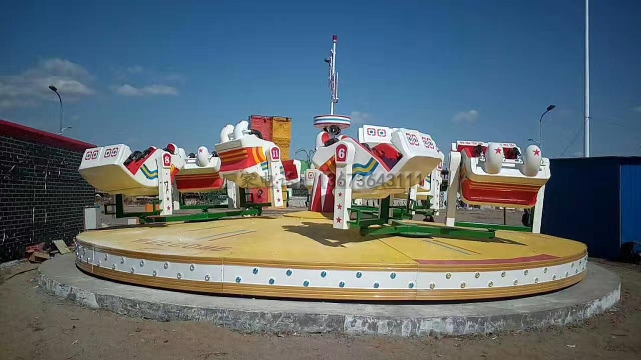 儿童游乐设备桑巴气球 厂家直销 郑州大洋8臂桑巴气球公园游乐示例图43