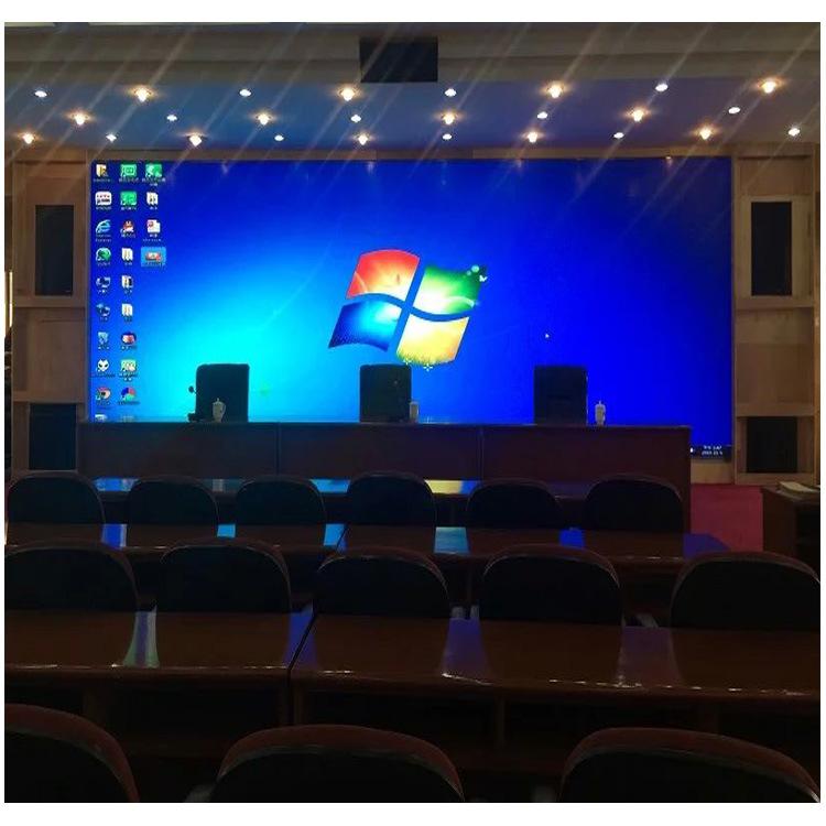 P2全彩led显示屏 P2全彩led拼接显示屏定制室内全彩广告led显示屏示例图7