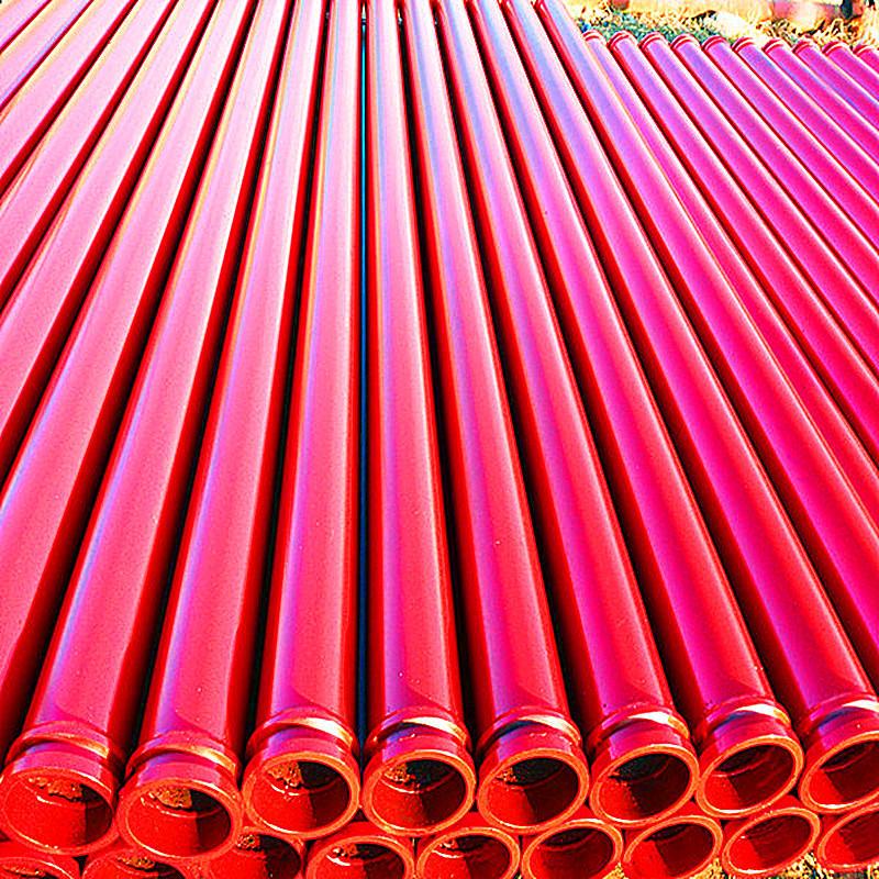 盐山泵管厂家推荐 3米泵管 55mn耐磨泵管示例图2