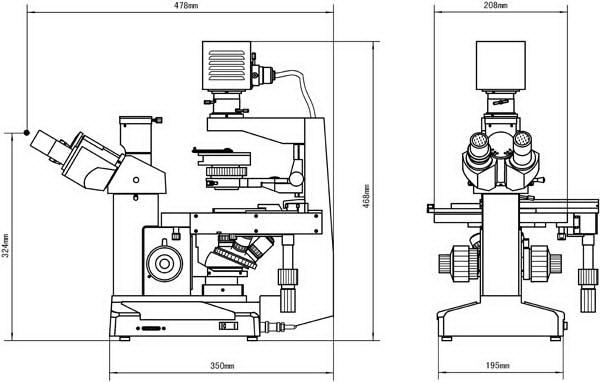 四川倒置显微镜价格 XDS-2 倒置生物显微镜 留辉科技公司供应示例图8