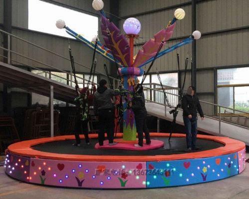 2020郑州大洋游乐设备8臂桑巴气球 儿童游乐厂家直销24座桑巴气球项目示例图55